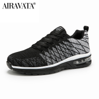 Black-Couple Running Shoes Fashion Comfortable Breathable Outdoor Lightweight Sneakers