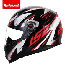 100% original LS2 warrior full face motorcycle helmet motocross racing