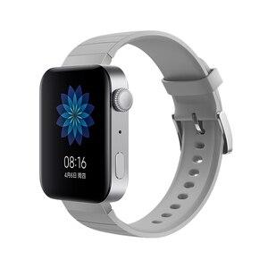 Image 5 - Xiaomi Smart Mi Watch GPS NFC WIFI ESIM Phone Call Bracelet Android Wristwatch Sport Bluetooth Fitness Heart Rate Monitor Track