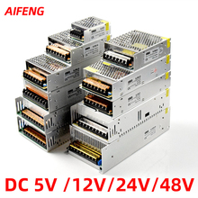 Led Power Supply12v 24v 48v 5v 1a 2a 3a 5a 10a 15a 20a Switching Power Supply Lighting Transformer Adapter Power Source