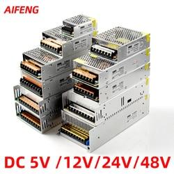 Led Power Supply12v 24v 48v 5v 1a 2a 3a 5a 10a 15a 20a Switching Power Supply Lighting Transformer Adapter Power Source