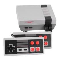 Console mini tv jogos built-in 2020, 8 bit retro clássico handheld jogador de jogos saída av vídeo console de dois jogadores