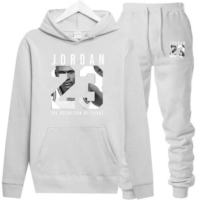 Nouveau 2018 flambant neuf mode JORDAN 23 hommes vêtements de sport imprimer hommes sweats à capuche pull Hip Hop hommes survêtement sweat-shirts vêtements 2