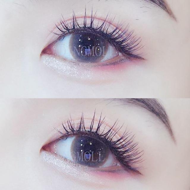 YOKPN New Japanese Pointed Tail False Eyelashes Super Natural Simulation Eye Makeup Eyelashes Long-lasting Eye Makeup Tools 3