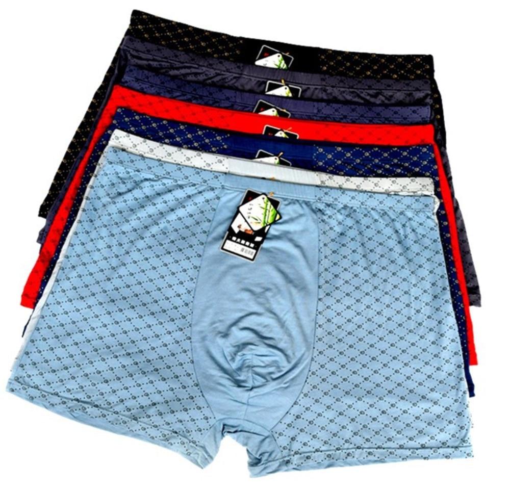 4-packs Large Size 9XL 11XL Sexy Underwear For Fat Men Knit Boxer Hombre Short Fashion Male Big Pennies Underwears 8XL 10XL New
