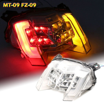 Motorcycle Rear Tail Light Brake Turn Signals Integrated LED Light For YAMAHA MT-09 MT 09 MT09 FZ-09 FZ09 FZ 09 2018 2019