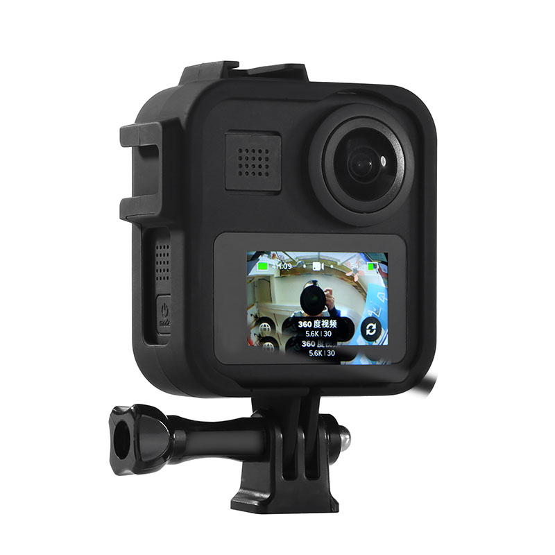 Case For Gopro Max Accessories Gopro Panoramic Action Camera Cage Protection Frame Mount For Go Pro Max Stand