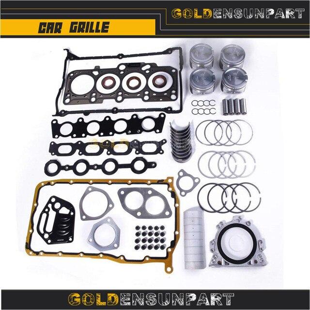 06B 107 065 N Engine Piston Gasket Seal Bearing Overhaul Kit For VW Jetta Passat Golf Audi A3 A4 A6 TT 1.8T AWP 058103383K 1
