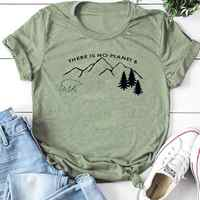 Il n'y a pas de planète B t-shirt femmes protéger ours polaire t-shirt sauver la terre chemises Streetwear Slogan t-shirts coton hauts pour filles livraison directe