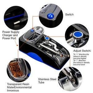 Image 3 - חשמלי מכונת סיגריות קל אוטומטי ביצוע טבק מתגלגל מכונה אלקטרוני להכנת רולר DIY עישון כלי