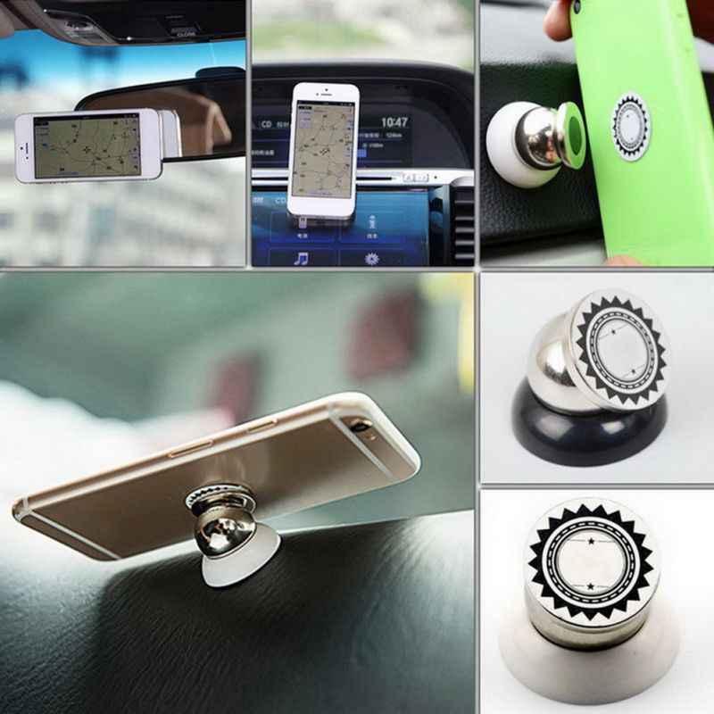 360 graus de rotação portátil suporte magnético do telefone suporte de montagem do carro
