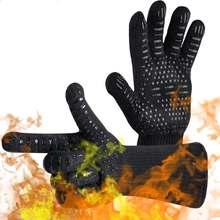 Горячая Распродажа 500 термостойкие перчатки с поворотом на