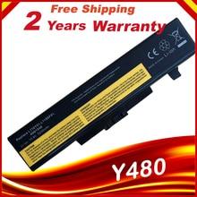 Batería de 6 celdas para Lenovo IdeaPad Y480 G500 G710 G700 Z580 G480 G585 Y480 Y485 Y580 Z380 Z580 G400 G485 G580 Y480N