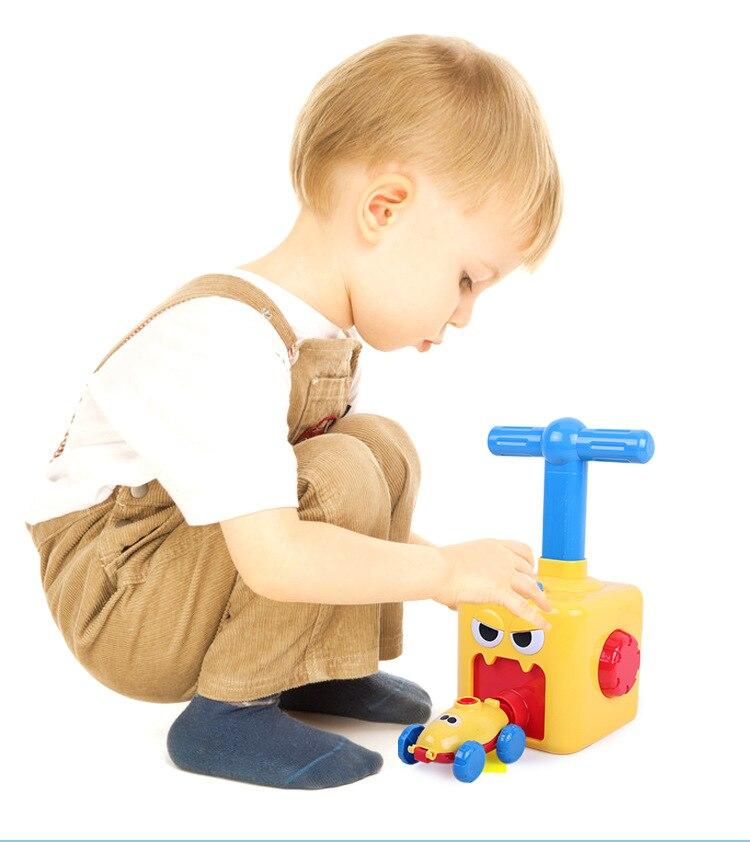 Putere balon lansare turn jucărie puzzle distracție educație - Vehicule de jucărie - Fotografie 6