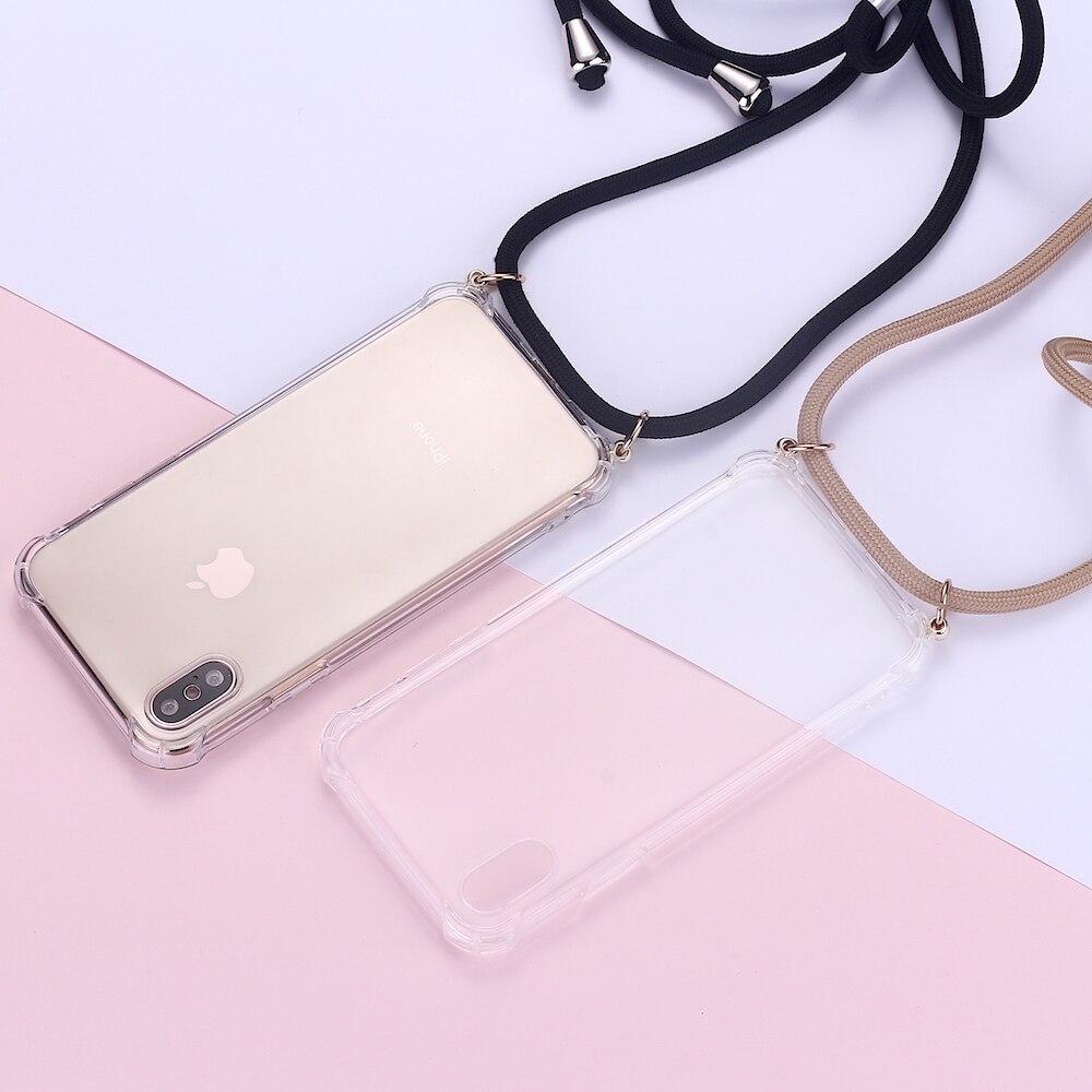 Funda con Correa Colgante Carcasa de movil con Cuerda para Colgar Case para iPhone 11 Pro Max Diente de le/ón con Cordon para Llevar en el Cuello