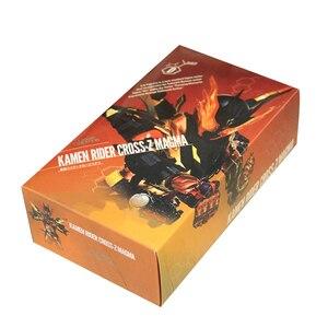 Image 5 - Magma версия наездника в масках, сборка Kamen Rider Cross Z, аниме, прототип, Совместный механизм, экшн фигура, модель, коллекция игрушек, детский подарок