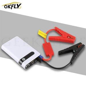 GKFLY High Power 12000mAh Starting Device Portable 12V 400A Car Jump Starter Power Bank Car Starter For Car Battery Booster CE