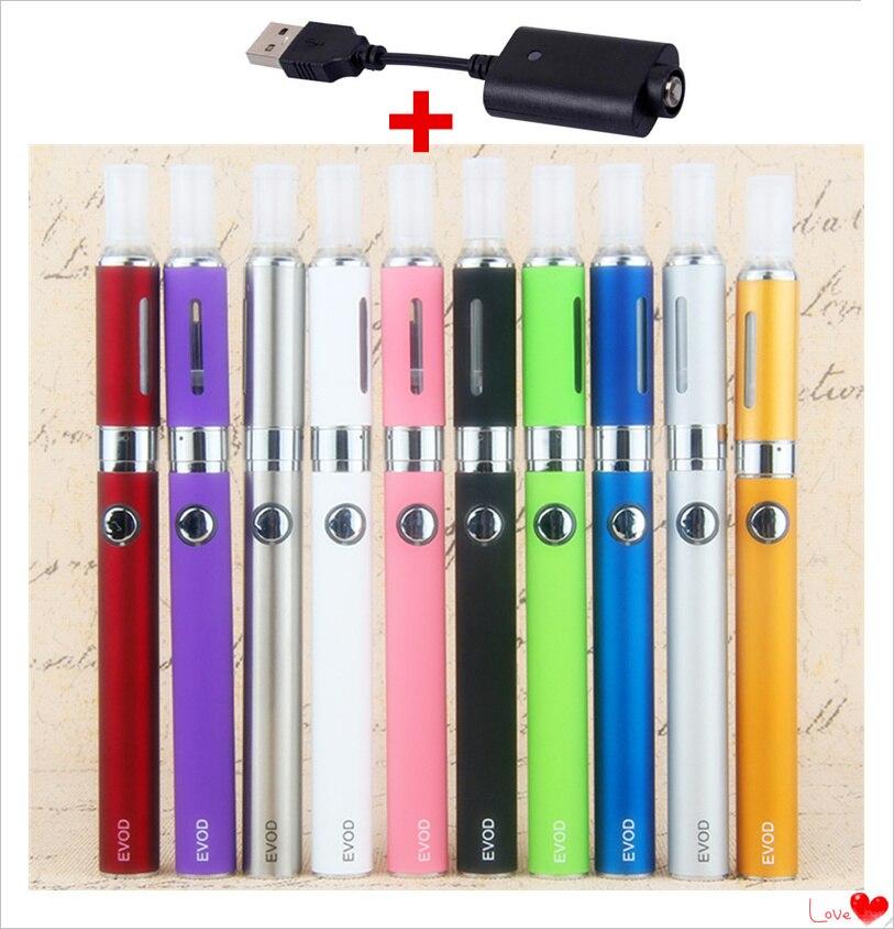 Evod MT3 900mAh Vape Starter Kit Electronic Cigarette EGo Vaporizer 2.4ml MT3 Atomizer Electronic Hookah Vape Pen Kits Set