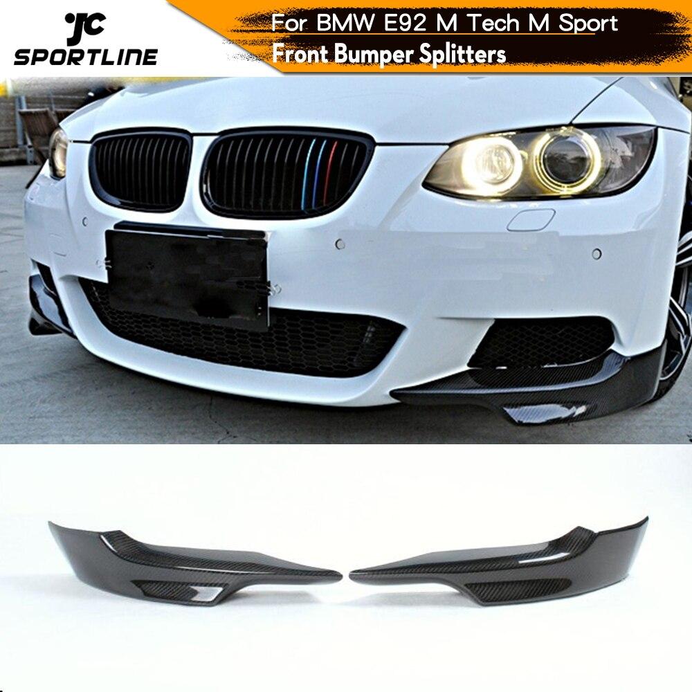 Rear Diffuser Spoiler Auto Lip Fit for BMW E92 325i M Tech M-Sport Bumper 07-13
