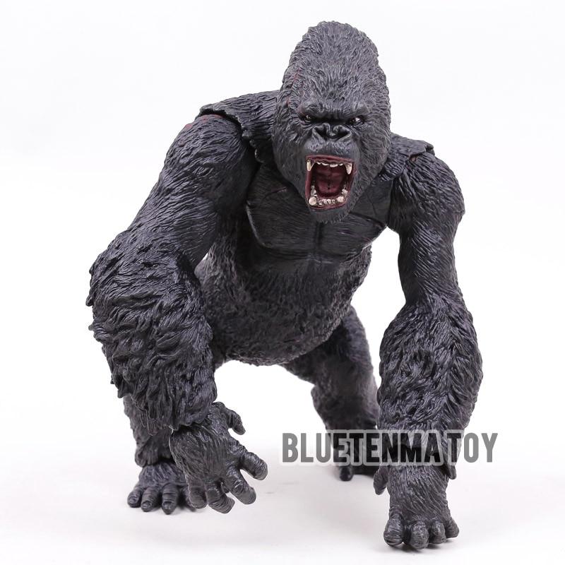 Kong Skull Island King Kong Big Size 45cm PVC Action Figure Collectible Model Toy