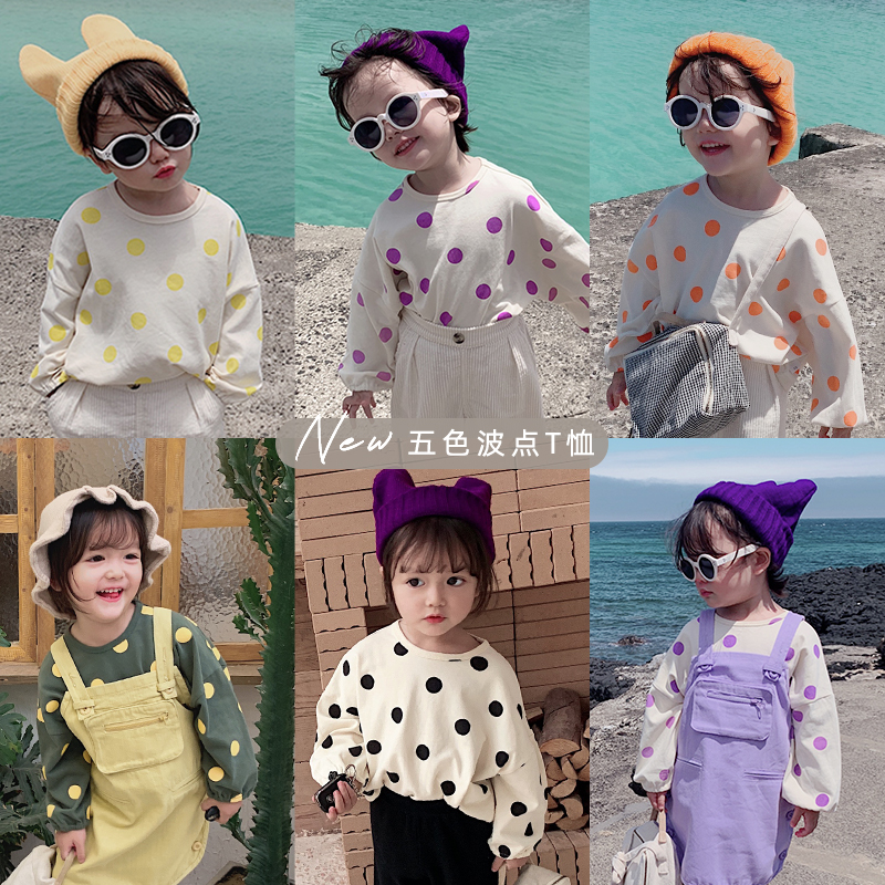 Shirts Round-Collar Autumn Retro Tops Baby-Girls Boys Cotton Children And Pop Hooded