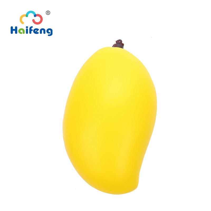 Slow Rising Squishyy Toys Soft Antistress Squeeze Relieve Stress Toys Miniature Food Mango Birthday Gifts For Girls