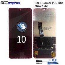 Original For Huawei P30 Lite LCD Display touch screen Digitizer Assembly Nova 4e MAR-LX1 LX2 AL01 Screen