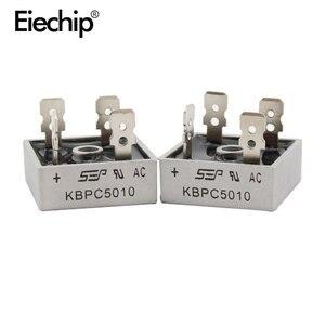 Image 5 - 2 шт. KBPC5010 диодный мостовой выпрямитель диод 50A 1000V kpr 5010 силовой выпрямительный диод electronica componentes