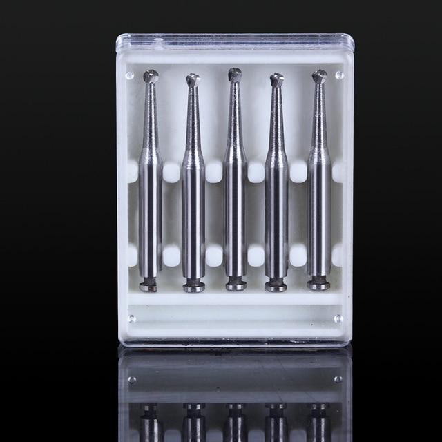 5 Pcs Dental product RA round bur Dental Lab Tungsten Carbide Burs  low speed Tungsten Carbide Burs RA bur 2