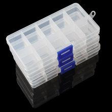 Пластик ящик для хранения Организатор Чехол отсек регулируемые