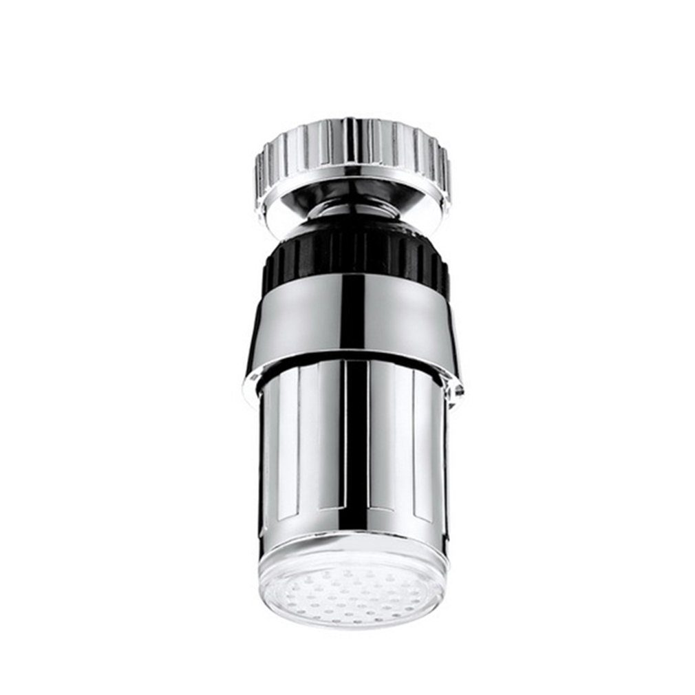 Battery Glow LED Water Faucet Light Changing Glow Temperature Sensor Shower Head Kitchen Tap Aerators