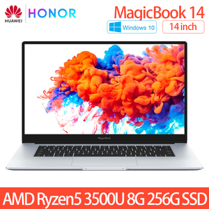HUAWEI HONOR MagicBook 2020 Laptop Notebook Computer 14 inch AMD Ryzen 5 3500U 8G 256GB PCIE SSD FHD IPS Laptops ultrabook