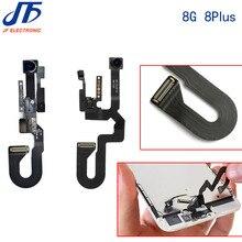 30 pçs/lote substituição para iphone 8 7 plus 8g 8p 7g 7 p câmera frontal módulo de proximidade sensor luz cabo flexível peças