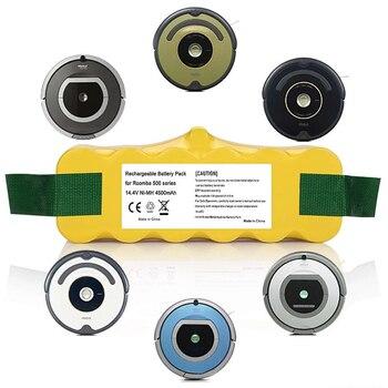 3500/4500/6000/8000mAh Battery for Irobot Roomba 620 650 700 770 780 800 Series vacuum cleaner Irobot Roomba 500 600 700 800 900 caster assembly front castor wheel for irobot roomba 500 600 700 800 series 560 620 630 650 770 780 870 880 vacuum cleaner parts
