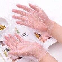 LHX одноразовые перчатки 100 упаковок уровень напитка еды прозрачные хозяйственные перчатки для уборки PE LX1008 h1
