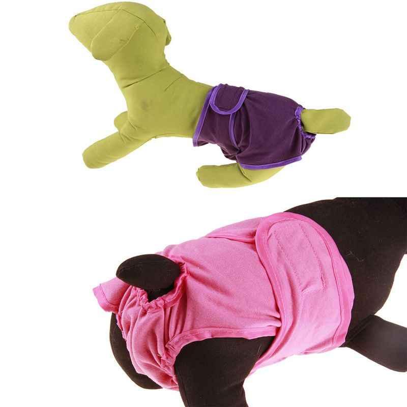 Faldas para perros fisiología ajustable para mascotas con pañales reutilizables para perros bandas fisiológicas para mascotas femeninas y hombres bandas para el vientre 2020