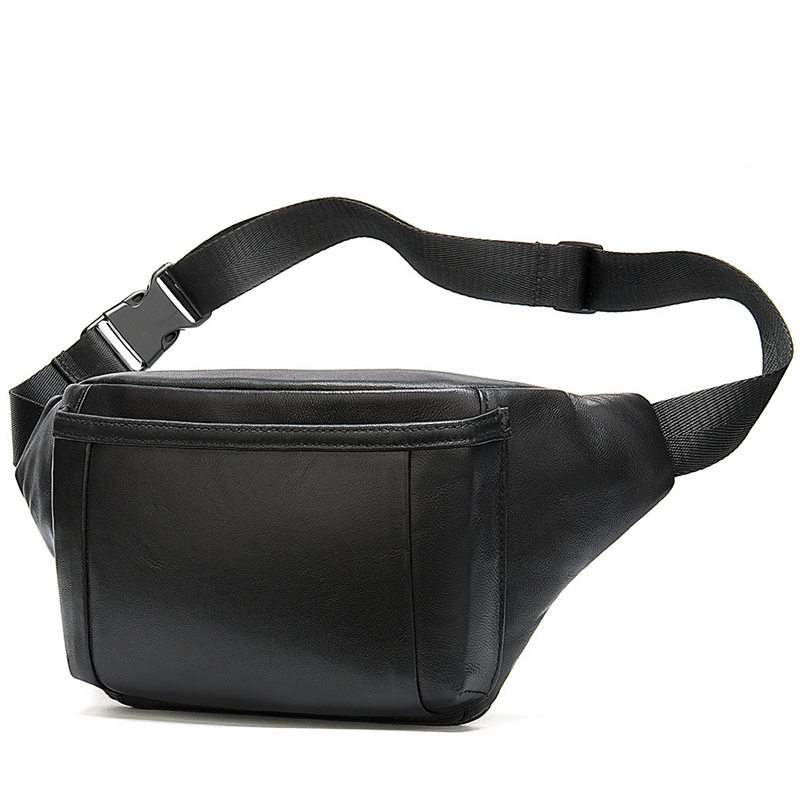 Men's Waist Bag For Men's Belt Bag Bum Waist Packs Leather Belt Bags Hip Man Belt Pouch Chest Bags