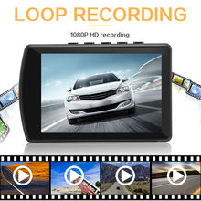 Car DVR Full HD 1080P 3.5 Inch IPS Touch Screen Recorder 5MP 480x800 Screen Auto Registrator Dash Camera dvr Dashcam(China)