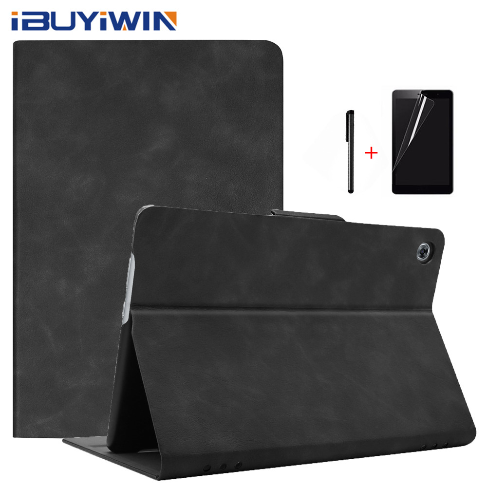 IBuyiWin Premium Smart PU Leather Cover For Huawei MediaPad M5 Lite 10 BAH2-W09/W19/L09 10.1