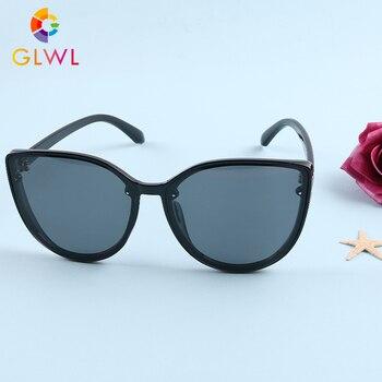 Womens Polarized Sunglasses Ladies Glasses Sun Luxury Brand Fashion 2020 Oversized Shades Girls Cat Eye Vintage