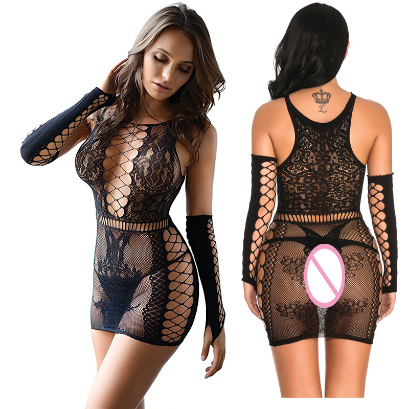 Porno Sexy Lingerie Intimo Donna Sexy Hot Erotic Langerie Sexy Underwear Lenceria Mujer Plus Size Women Babydolls Fishnet Qq500