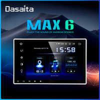 Dasaita 10,2 pantalla HD 2 Din Car Radio Android 9,0 Universal Car Multimedia estéreo para Nissan Bluetooth navegación GPS 64G ROM