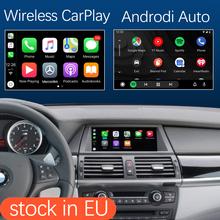 Bezprzewodowy Apple CarPlay z systemem Android interfejs dla BMW X5 E70 X6 E71 2011-2013 X1 E84 2009-2015 z MirrorLink USB HDMI funkcja tanie tanio Road Top CN (pochodzenie) Jeden Din IRON 1 5kg Tuner radiowy Telefon komórkowy Odtwarzacze mp3 Bluetooth Funkcja wi-fi