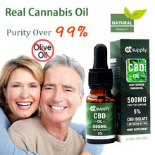 10ML Broad Spectrum 5%\10%\20%\30% Content CBD OIL Over 99% Purity Hemp Extract drop for Anti-anxiety help insomnia relief pain