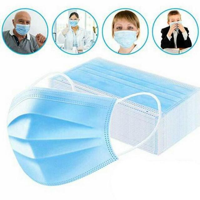 10/20/30/40/50/100pcs mouth mask Men Women Cotton Anti Dust Mask Mouth Mask Windproof Mouth-muffle Bacteria Proof Flu Face Masks 1