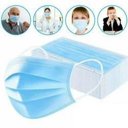 10/20/30/50pcs 3 Ply Face Mask Disposable Protective Safety Masks Anti-Dust Mask Anti Pollution Non-Woven Mouth Mask N95 Mask 2