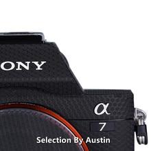 Premium kamera cilt çıkartması Wrap Film Sony A7 A7r A7 Mark 1 koruyucu Anti scratch çıkartması Sticker