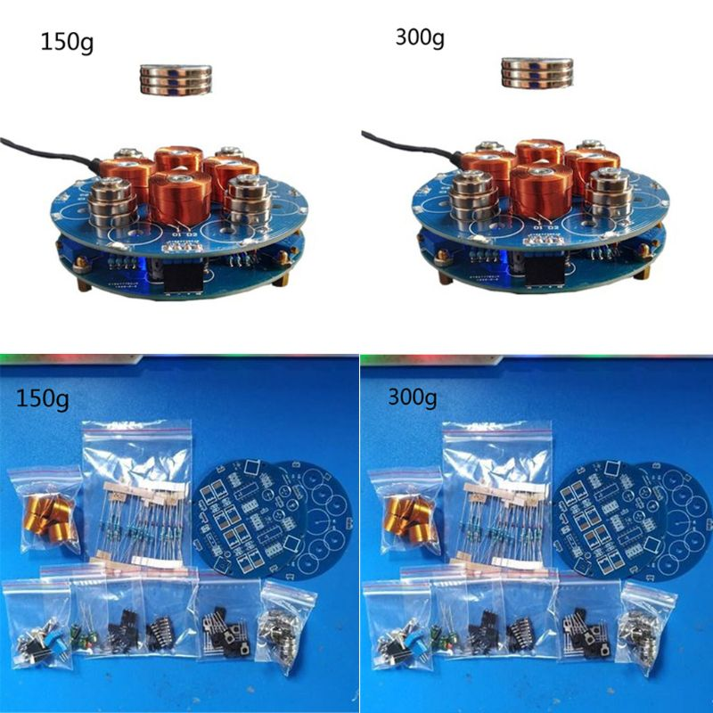 1Set 150g/300g Intelligent Magnetic Levitation DIY Kits Suspension Magnetic Electronic Module Finished Products