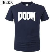 Tops T-Shirt Game-Printed Doom 100%Cotton Short-Sleeve Streetwear Casual Summer Fashion