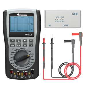 MUSTOOL Oscilloscope Multimeter Resistance-Diode-Tester Current Voltage Digital Handheld
